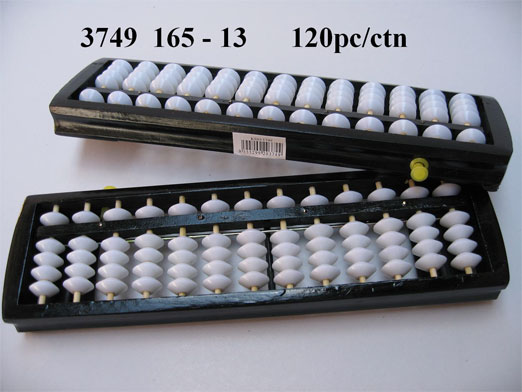 3749 Black Wood Abacus