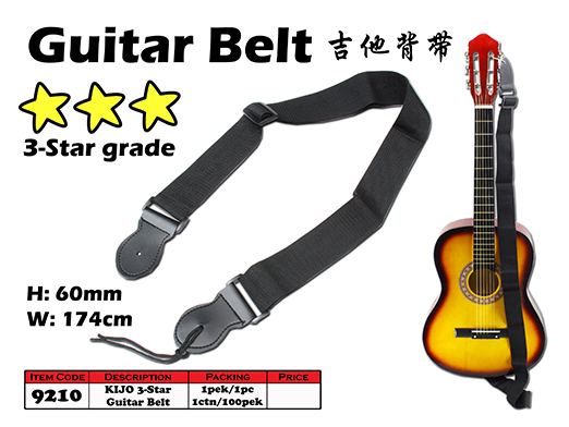 9210 KIJO 3-Star Guitar Belt
