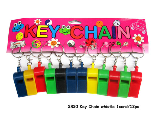 2820 Whistle Key Chain