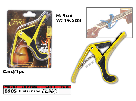 8905 Guitar Capo Yellow