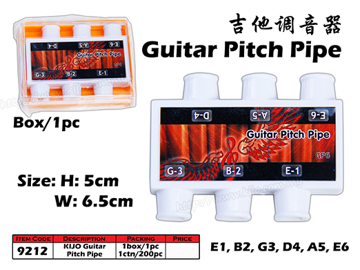 9212 Kijo Guitar Pitch Pipe