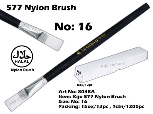 8038A KIJO 577 Nylon Brush